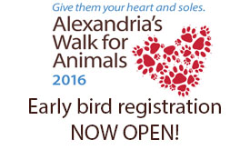 2016 Walk for Animals registration open