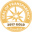 Seal of Transparency - 2017 Gold - GuideStar - Alexandria Animals (AWLA)
