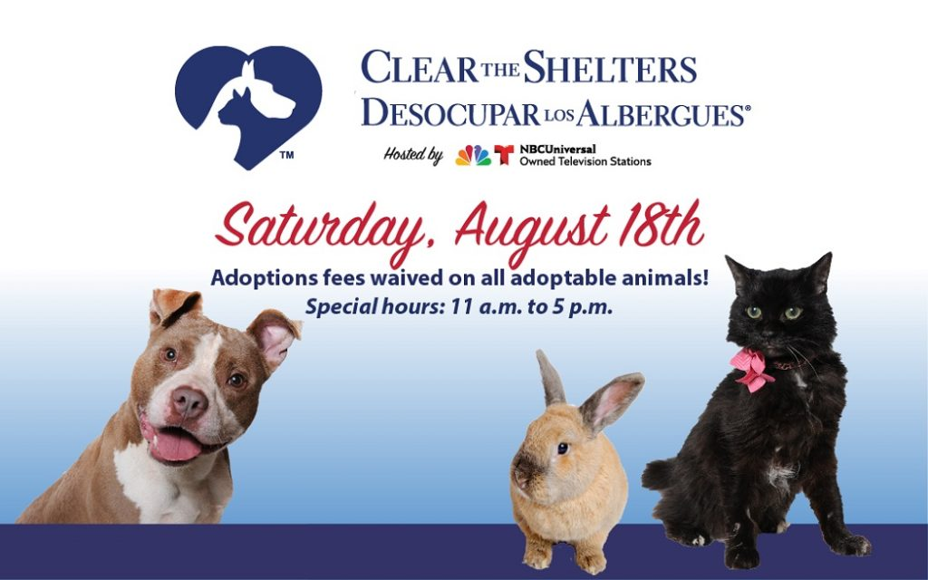 Clear the Shelters 2018 - Alexandria Animals