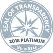 GuideStar Seal of Transparency - 2018 Platinum - Alexandria Animals (AWLA)