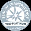 2019 Platinum GuideStar, Seal of Transparency - AWLA